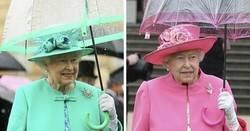 Enlace a Se dan cuenta de algo curioso sobre el atuendo de la Reina de Inglaterra, y no nos lo quitamos de la cabeza