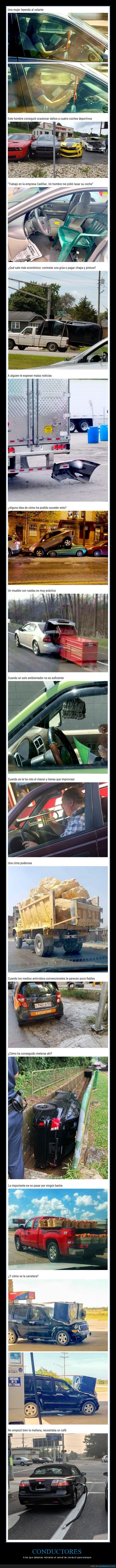 coches,conductores,fails,wtf
