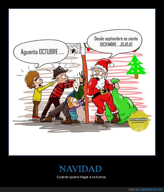 caricatura,fiestas,humor,navidad,octubre,parodia