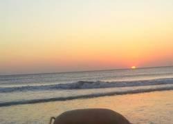 Enlace a Hermosa puesta de sol