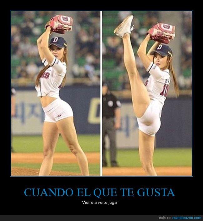 baseball,chica,postura