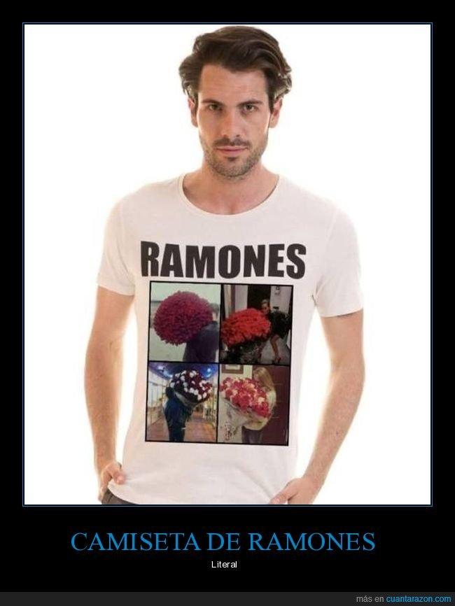 absurdo,camiseta,ramones,ramos