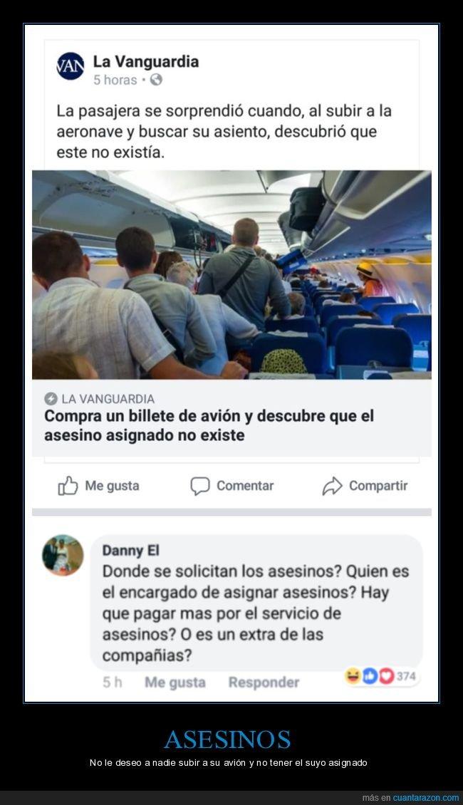 asesino,asiento,avión,fail