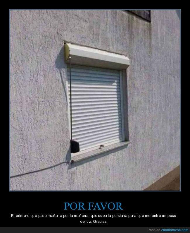 al revés,fails,persiana,ventana