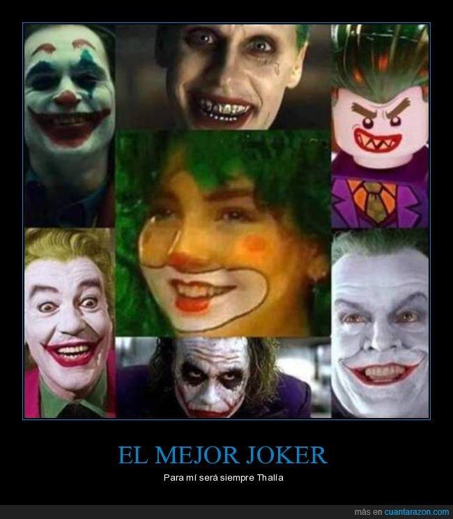 absurdo,joker,thalía
