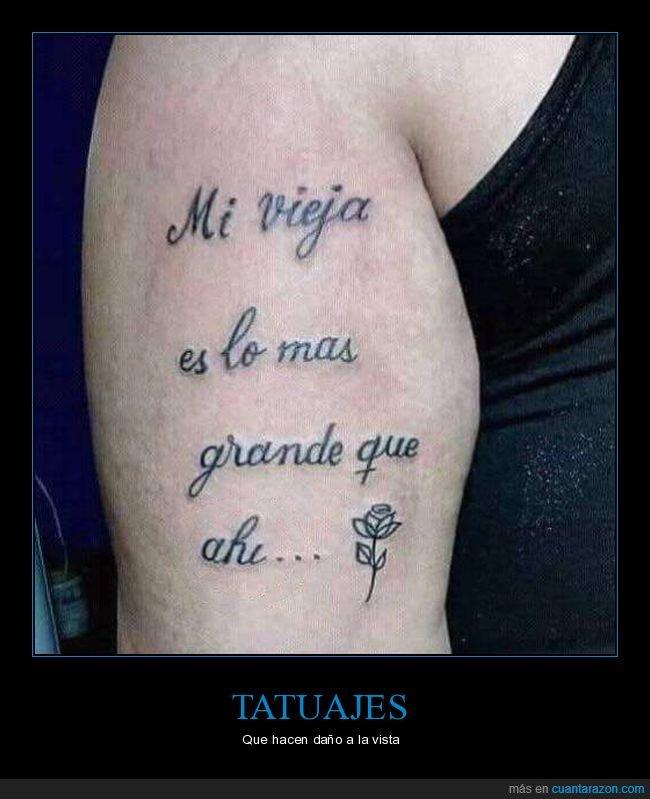 fails,ortografía,tatuaje