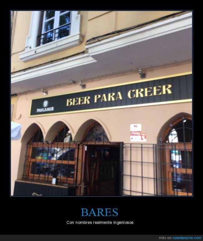 beer,beer para creer,cerveza,nombre,ver para creer