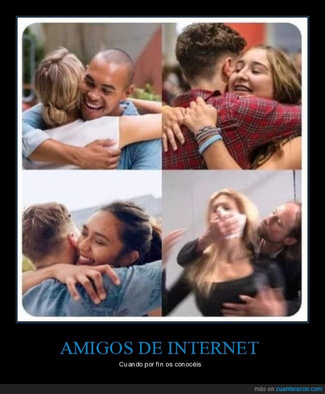 amigos,internet,secuestrador,wtf
