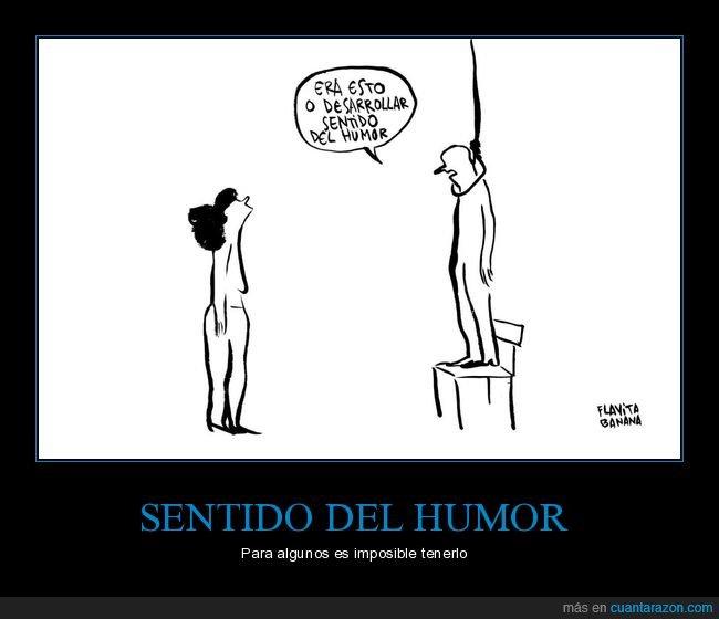 colgado,sentido del humor,suicidio