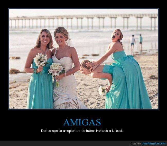 amigas,boda,foto