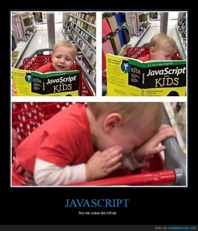 javascript,libro,llorando,niño