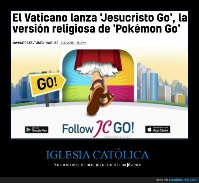 iglesia,jesucristo go,pokemon,pokemon go,vaticano