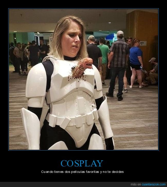 alien,cosplay,star wars,stormtrooper