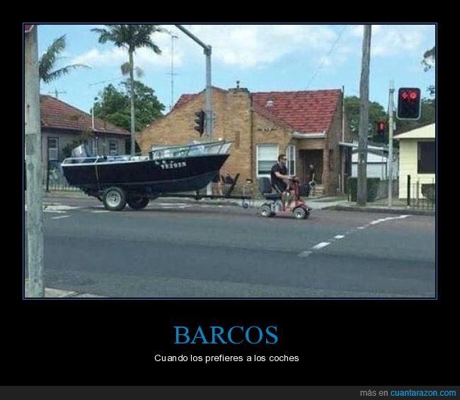 barco,remolcando,triciclo,wtf
