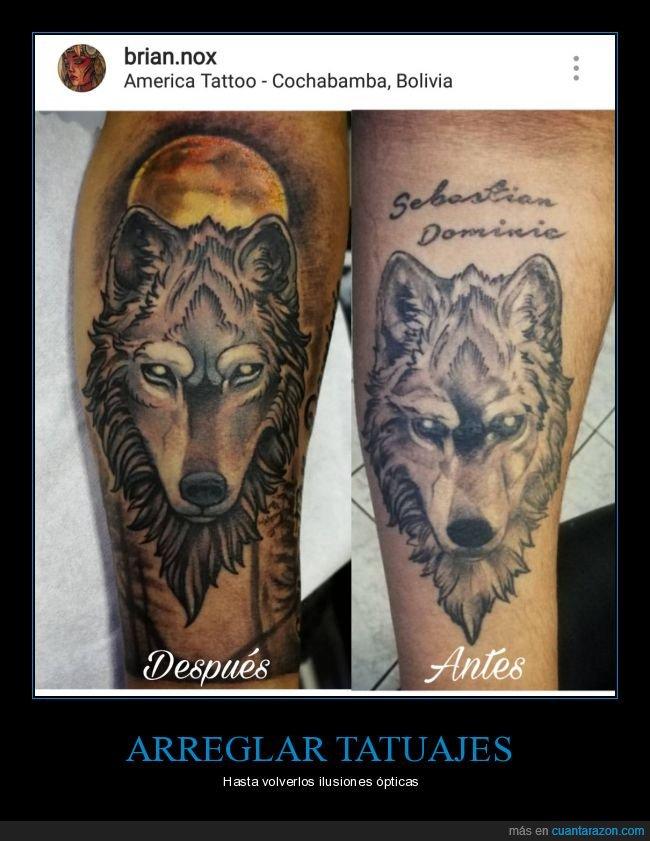 coverup,lobo,tatuaje