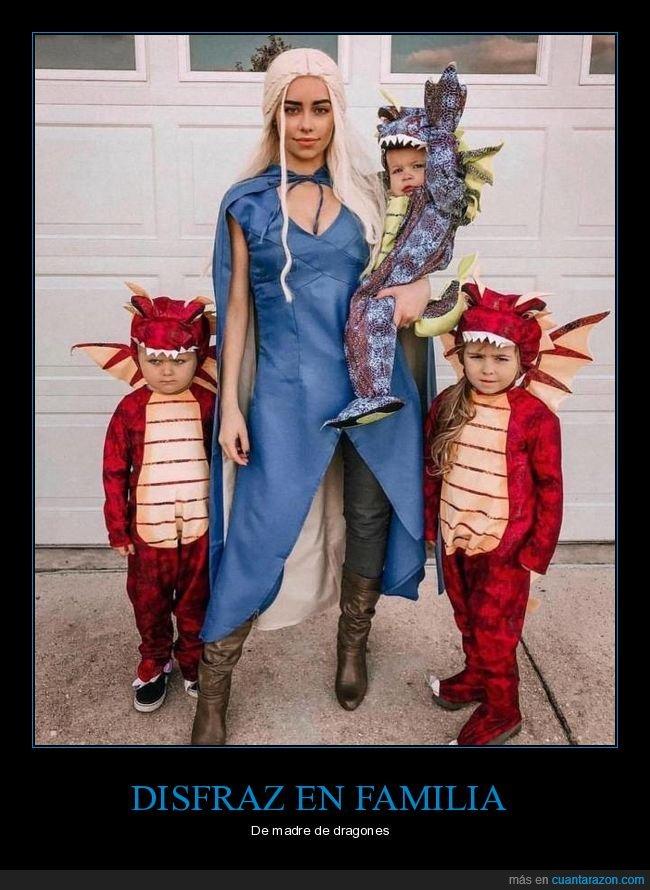 disfraz,dragones,juego de tronos,khaleesi,niños