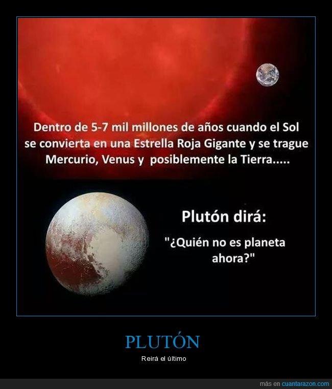 planetas,plutón,sol