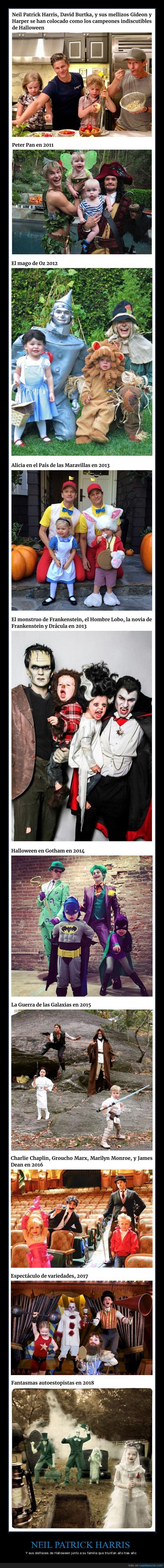 disfraces,familia,halloween,neil patrick harris
