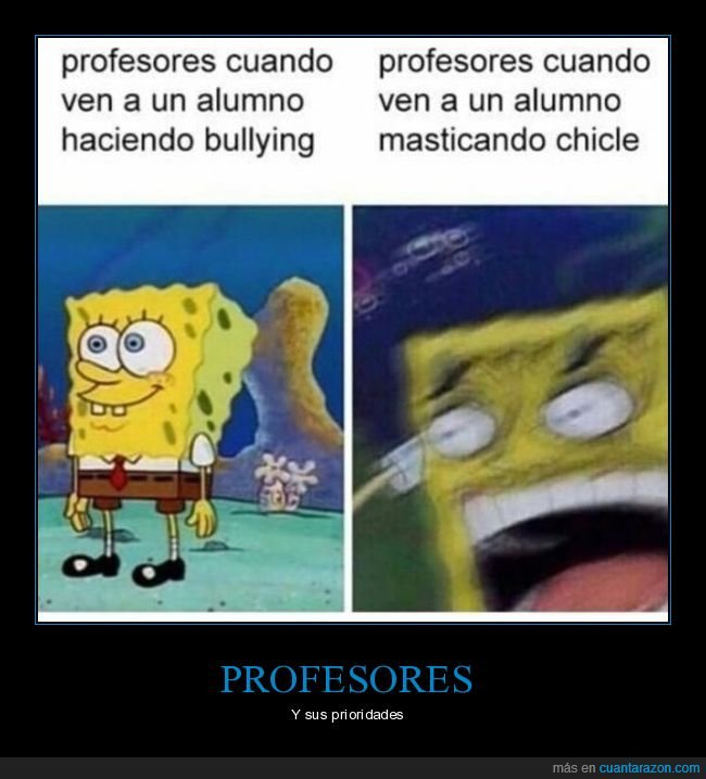 bullying,chicle,profesores