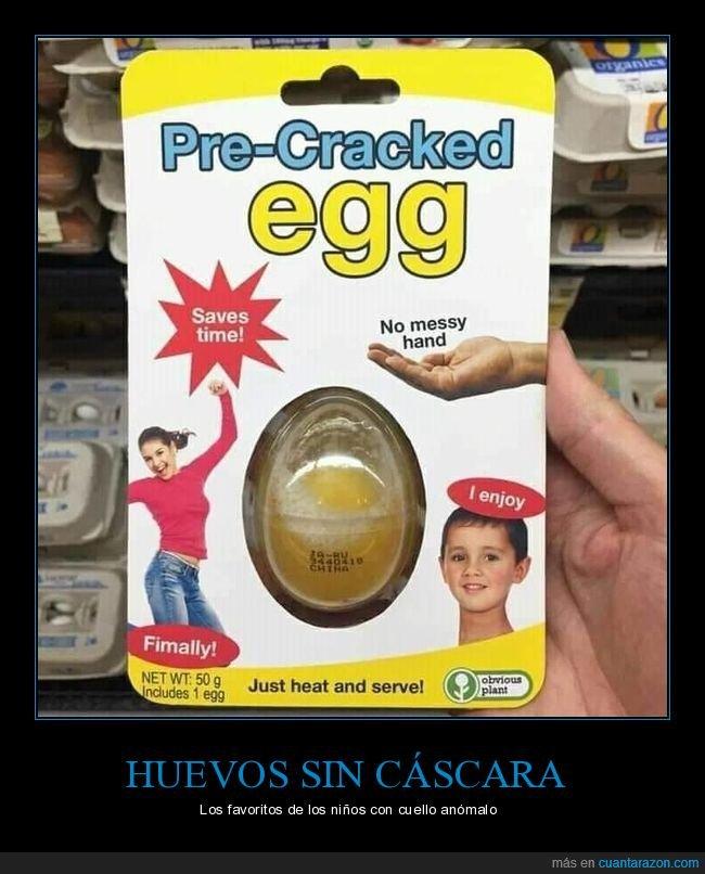 huevos,sin cáscara,wtf