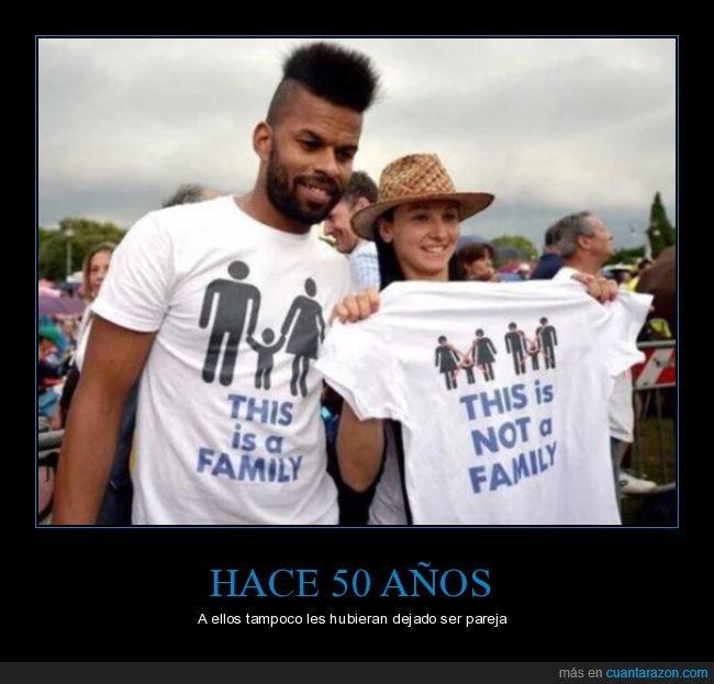 familia,homosexuales,interracial,pareja