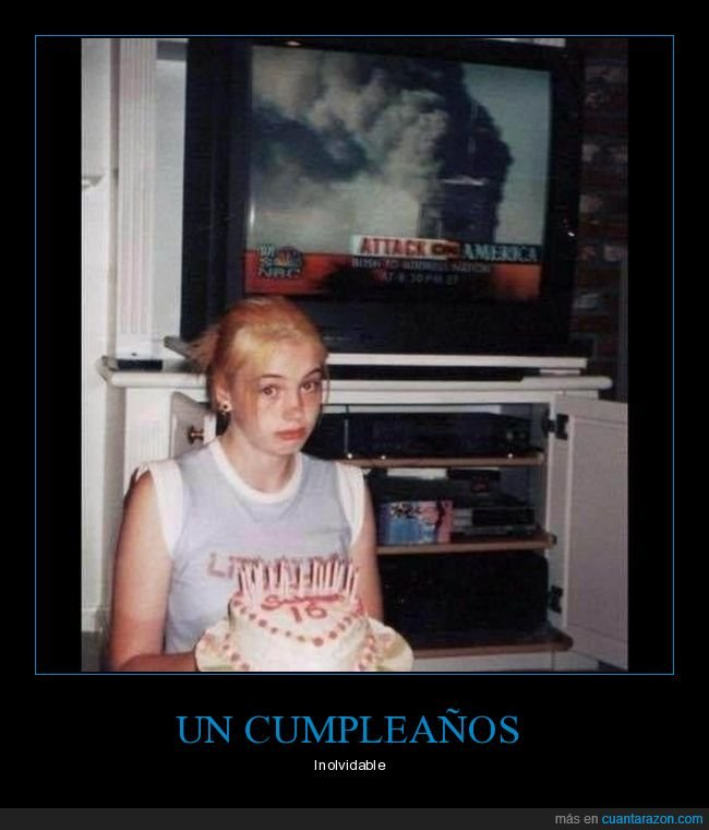 cumpleaños,fails,torres gemelas