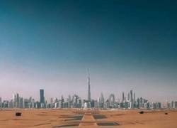 Enlace a las carreteras de Dubái