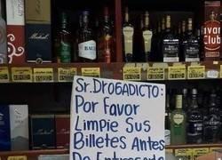 Enlace a Señor drogadicto, por favor...