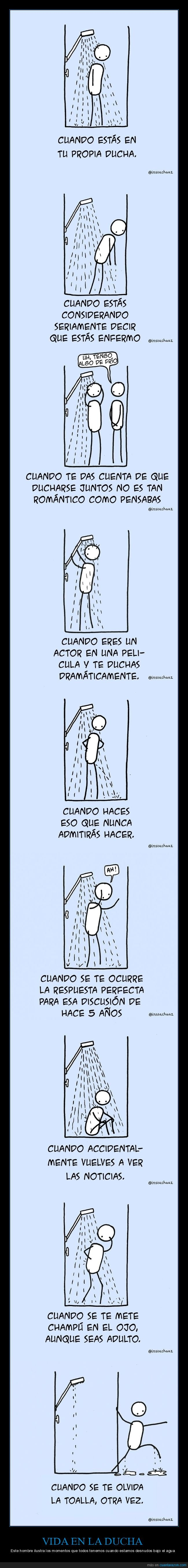 ducha,momentos