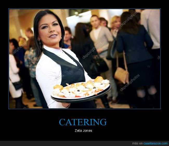 absurdo,catering,catherine zeta jones,parecidos