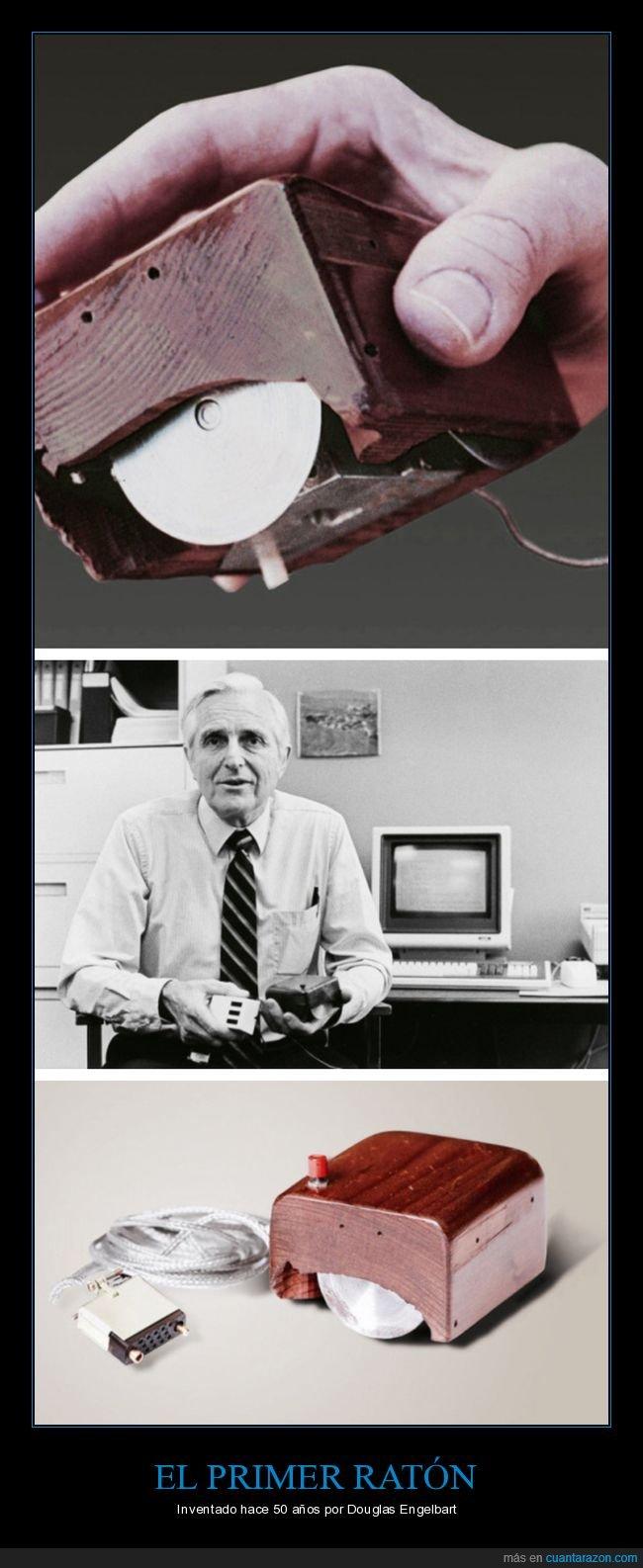 douglas engelbart,inventor,ratón