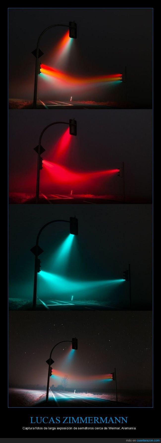 fotografía,larga exposición,lucas zimmermann,semáforos