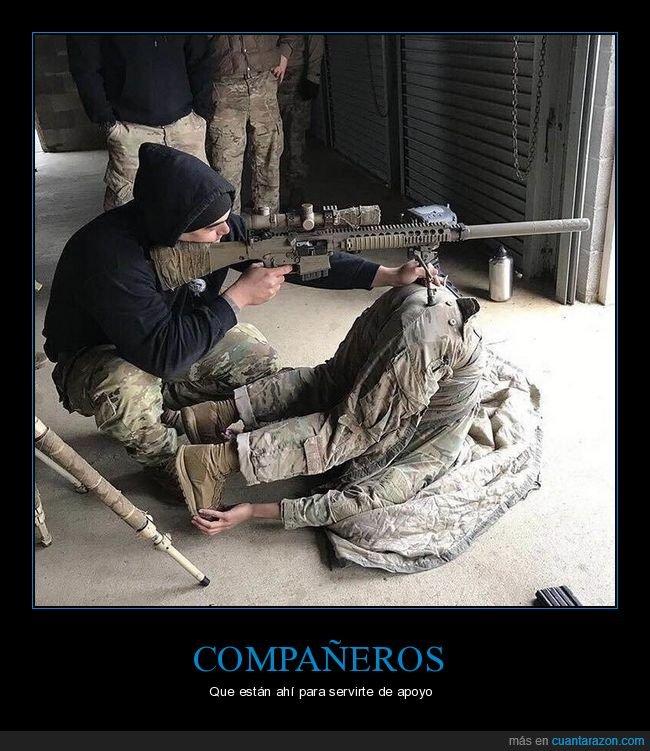 rifle,soldados,soporte