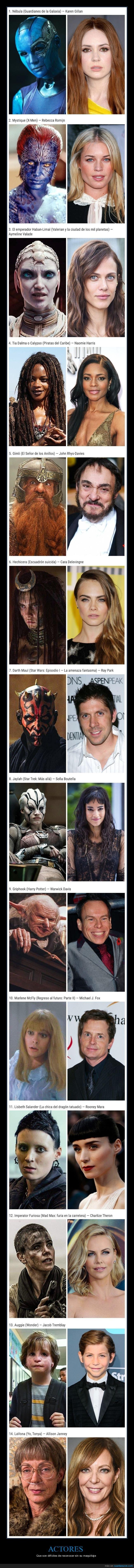 actores,cine,maquillaje,películas,personajes