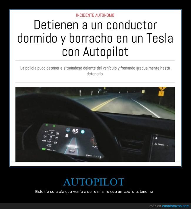 autopilot,borracho,conductor,detención,tesla