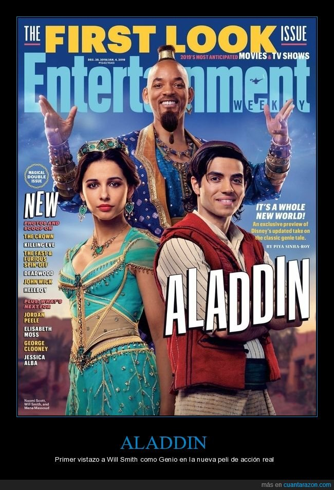 aladdin,cine,genio,will smith