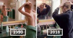 """Enlace a Comparan """"Solo en casa"""" de 1990 con el anuncio de 2018, y se ve que Macaulay Culkin tiene buen aspecto"""