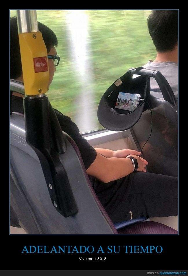 autobús,gorra,ingenio,móvil