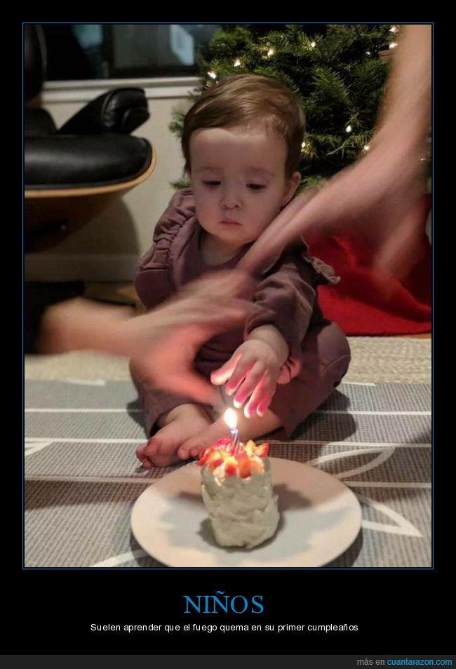 cumpleaños,fuego,niño,vela