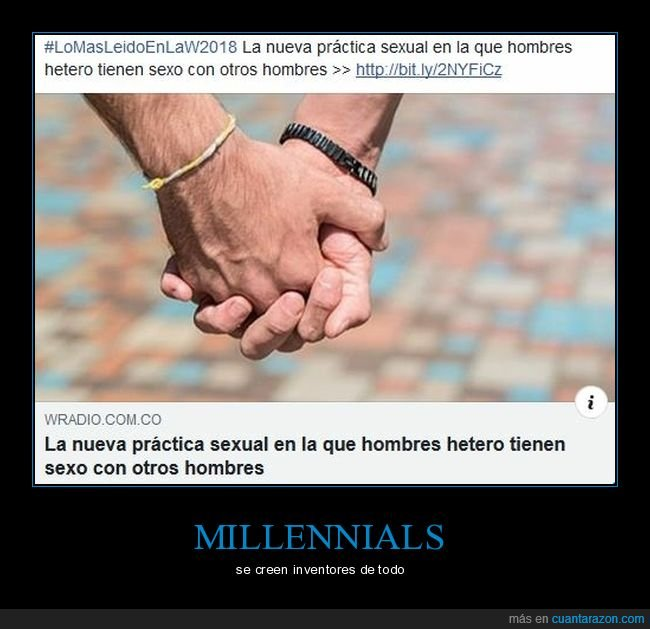 gays,hombres,millennials,sexo,sexual