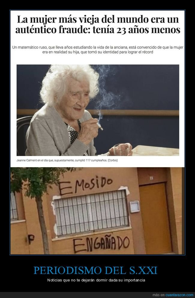 anciana,edad,mentir