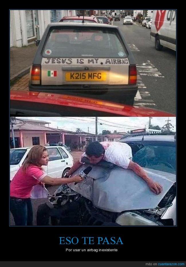 accidente,airbag,coche,jesus