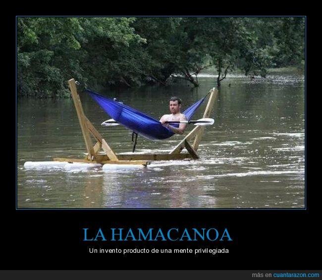 canoa,hamaca,invento
