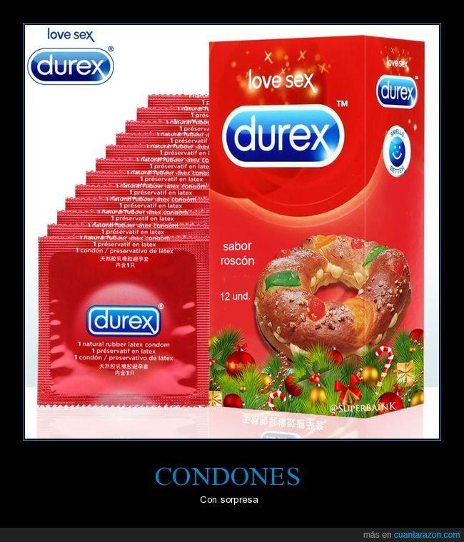 absurdo,condones,roscón de reyes