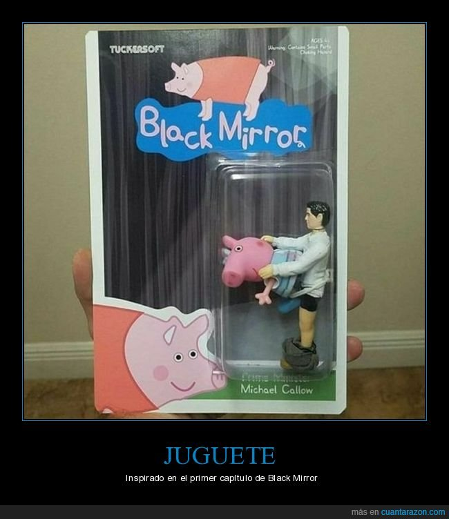 black mirror,cerdo,juguete,wtf
