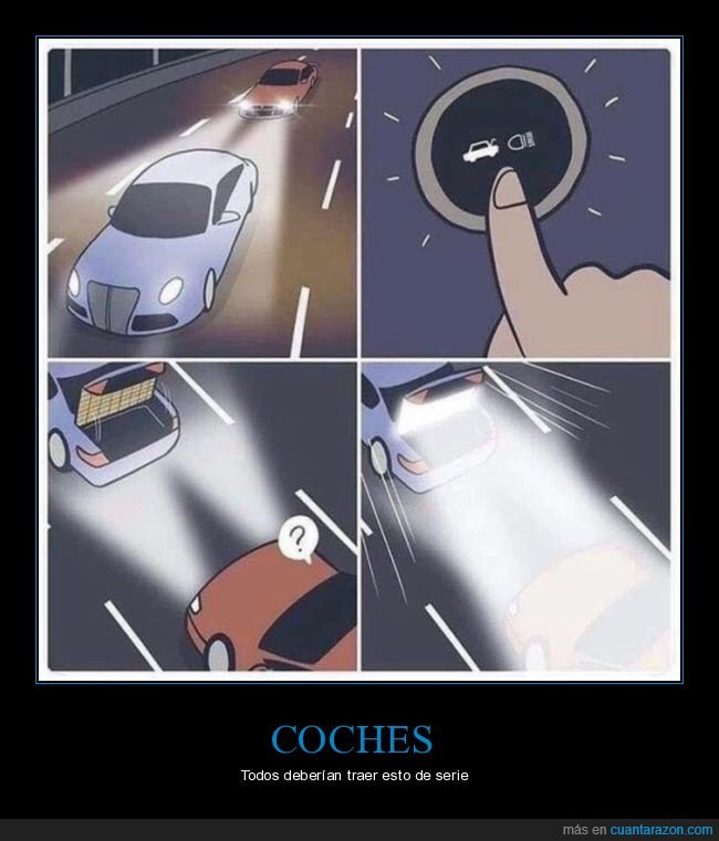coche,largas,luces,maletero