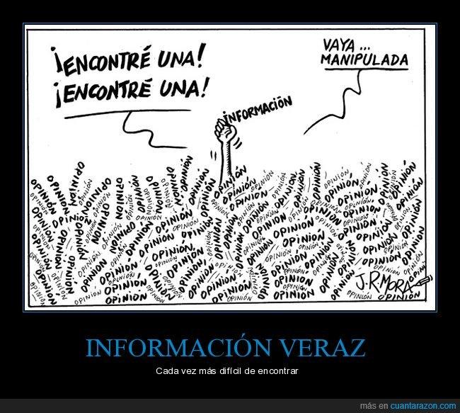encontrar,información,manipulada,opinión