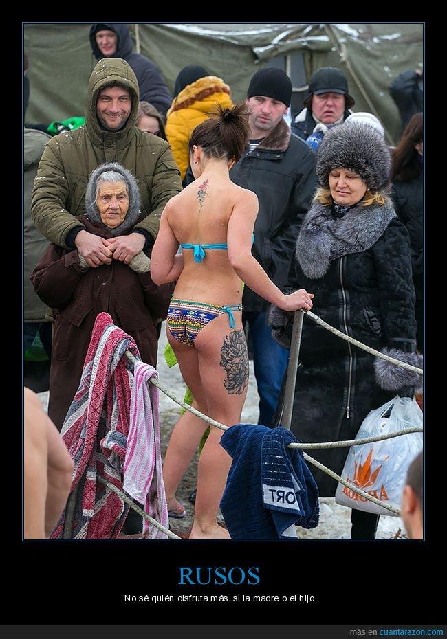 bikini,cara,ruso,rusos