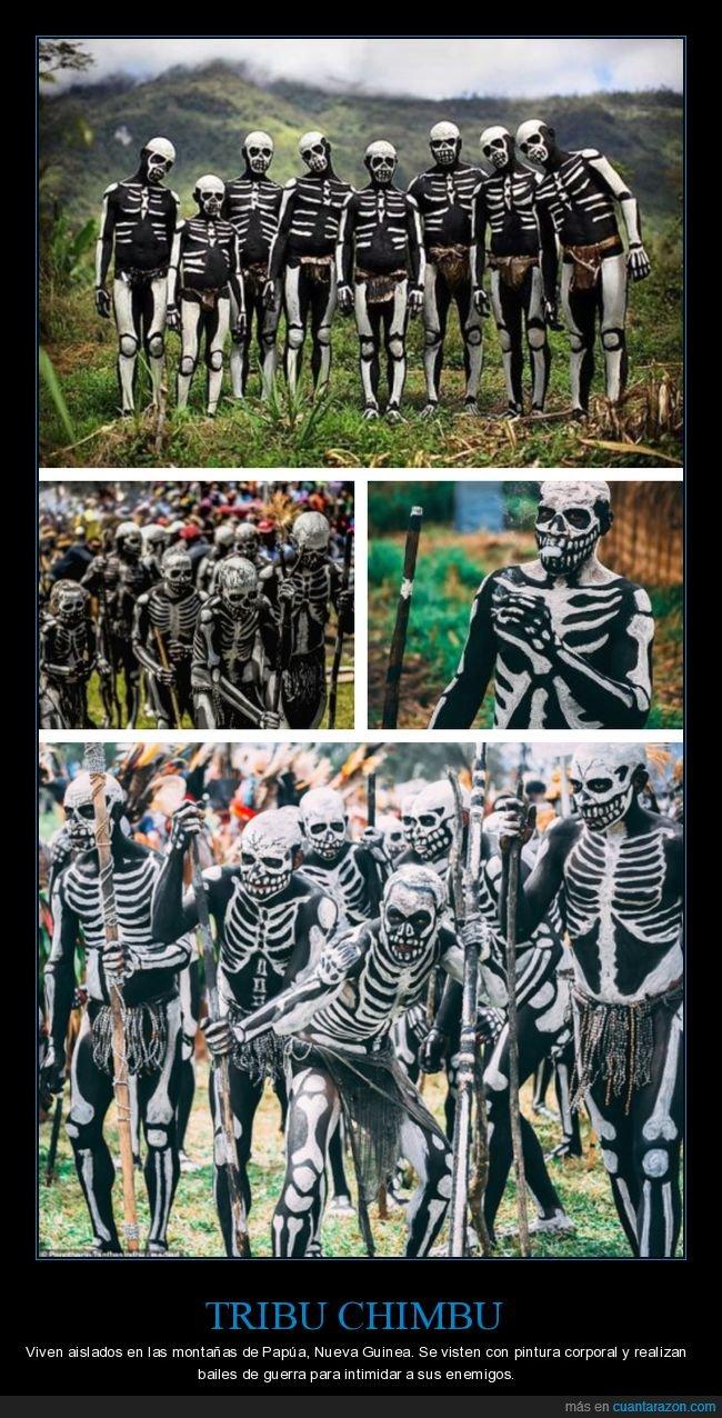 chimbu,curiosidades,esqueletos,tribu