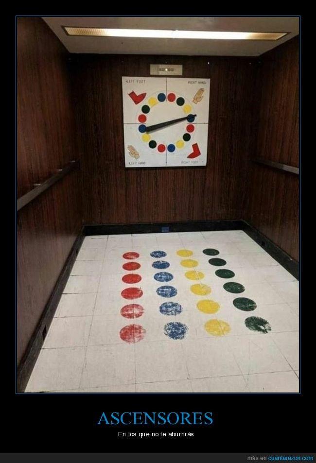 ascensor,twister,wtf